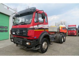 chassis cab truck Mercedes Benz 1827 FULL SPRING 3 AXEL V6 CYLINDERS 1999