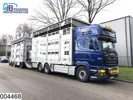 livestock trailer Pezzaioli Autonoom  Animal transport, 3 layers, Manual, Retarder, Airco, Standairc... 2011
