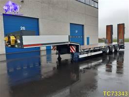 lowloader semi trailer Kaessbohrer SLA 3 Low-bed