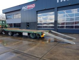 flatbed full trailer Jumbo MV160C 1981