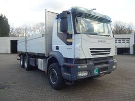 drop side truck Iveco AD380T50 Pritsche 6x4 2007