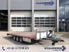 automobilový přívěs s pracovní plošinou Kuiper 3-Assige Plateau AHW // Oprijplaten // 500 x 245 cm Platte bak 2015