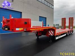 lowloader semi trailer Kaessbohrer SLH 3 Low-bed