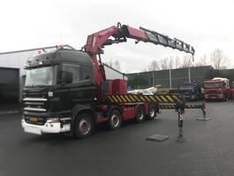heavy duty tahač Scania R 480 8 X 4 FASSI 110 T/M 2006