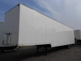 lowloader semi trailer Sommer SEMI 1 As Oplegger Dieplader Gesloten, OD-25-LX 1991
