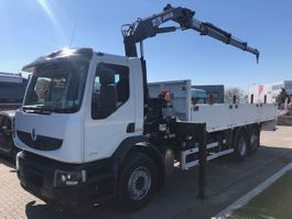 platform truck Renault PREMIUM LANDER 340 DXI + MKG HLK 141 A3 2010