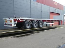 flatbed semi trailer Pacton Kraanoplegger - Fusee as -  NIEUW 2020
