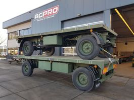 drop side full trailer Burg 2 as bladgeveerd 1994