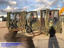 forklift Jungheinrich DFG 25 2 UNITS EX ARMY 2001