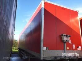 closed box semi trailer Samro Droge vracht Roldeur 2011