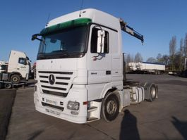 cab over engine Mercedes Benz actros 1846  retarder + kraan 2008