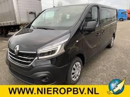 closed lcv Renault trafic dub cab airco navi NIEUW 2020