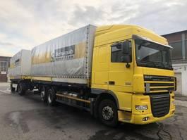 swap body truck DAF Komplett Zug FAR XF105.460SC , Intarder, Top 2013