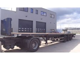 flatbed semi trailer Renders NS4G31  (MERCEDES AXLES) 2004