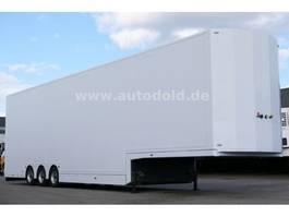car transporter semi trailer Kaessbohrer SP9-16CVT EcoTrans Koffer Doppelstock 2003