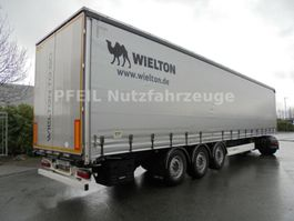 sliding curtain semi trailer Wielton NS-3 Tautliner - SAF - LIFT- Portal- TOP 2018