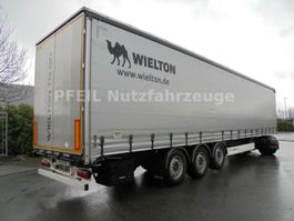 sliding curtain semi trailer Wielton NS-3 Tautliner - SAF - LIFT- Portal- TOP 2018