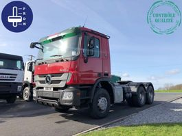 cab over engine Mercedes Benz ACTROS 2641 2009