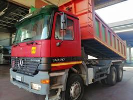tipper truck > 7.5 t Mercedes Benz MERCEDES BENZ 3340-6X6 2002