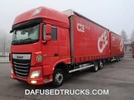 nákladní vozidlo s posuvnými plachtami DAF FAR XF460 2016