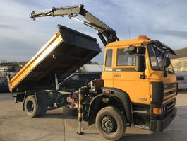 tipper truck > 7.5 t DAF 1700 TURBO **TIPPER+CRANE** 1990