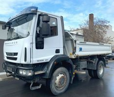 tipper truck > 7.5 t Iveco 150E25 EEV, 4x4, Klima, Schaltgetriebe 2014