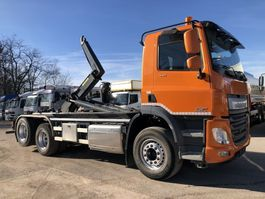 container truck DAF CF 440 Haaksysteem -Motor-PTO - EURO 6 - LIFTAS 2015