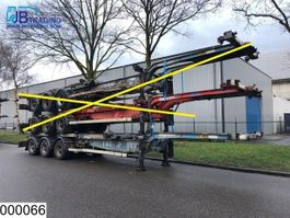 container chassis semi trailer ASCA Container  10 / 20 / 30 / 40 FT container chassis 2000