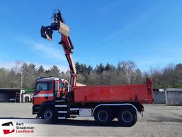 tipper truck > 7.5 t MAN H47 TGA 26.430 6x6 kipper met Palfinger PK16002 year 2010 2006