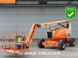 articulated boom lift wheeled JLG 600 AJ Dutch worklift  -  from first owner 2005
