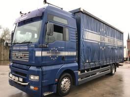 sliding curtain truck MAN TGA 18.350 XXL **TOPSHAPE-8.10BOX** 2004