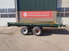 flatbed full trailer Bakkenwagen