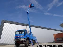 mounted boom lift truck Iveco Eurocargo 140E24 4x4 -17 mtr. Hoogwerker E5, Platform, Arbeitsbuhne 2006