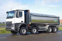 camión de volquete > 7.5 t Mercedes-Benz Arocs 4145-K 8x4 - Euro 6 - 20m3 VS-Mont Isolated Tipper - HYVA Cover - NEW