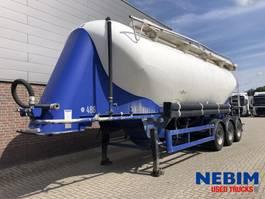 feed semi trailer Spitzer BP SF 27  39M3 2000