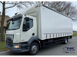 sliding curtain truck DAF LF 280 SCHUIFZEIL 125.000 KM 2016