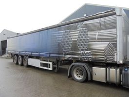 sliding curtain semi trailer ES-GE 3-as Edscha Schuifzeil/Schuifdak 2005