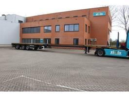 flatbed semi trailer ES-GE 3-ass. Vlakke uitschuifbare oplegger // Naloop gestuurd 2007
