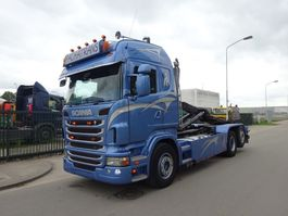 container truck Scania R 420 6 X 2 + HOOKSYSTEM !! NEW CONDITION !! 2012