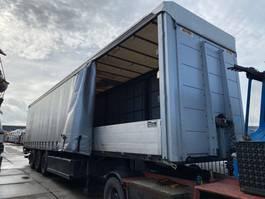 sliding curtain semi trailer System Trailer LPRS 24 - 3 AS + ALUMINUM SIDEPLATES onderschuifklep 2015