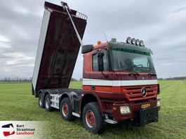 tipper truck > 7.5 t Mercedes Benz ACTROS 4148 K 8x4 kipper 3 pedals 2008