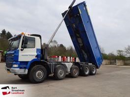 tipper truck > 7.5 t Ginaf X 5450 B 10x8 steelsuspension 2008