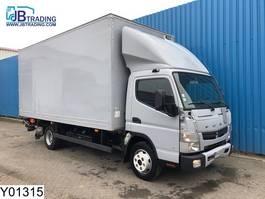 closed box truck > 7.5 t Mitsubishi Canter Fuso, 7C18, Automatic, Steel suspension, Adblue 2014