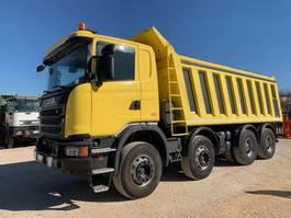 tipper truck > 7.5 t Scania G410 8x4 Euro6 2015