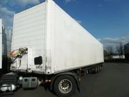 closed box semi trailer Schmitz Cargobull SKO 24 ISO Koffer Lift, LBW