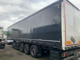 drop side semi trailer Kögel SN 24-1 SN 24-1, Plane + Spriegel 2016