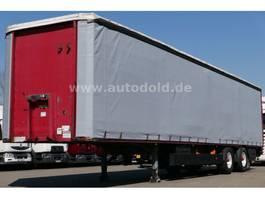 tilt semi trailer Meusburger MPS-2 Pritsche Plane LBW Edscha Alufelgen 2001