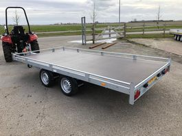 car transporter trailer Eduard autotransporter bij Eemsned in de aanbieding