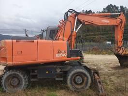 escavadora de rodas Hitachi Zaxis 180W