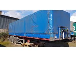 tilt semi trailer Schmidt 3 axel with sideboards 2005